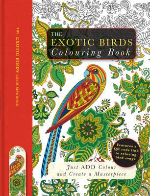 Exotic Birds Colouring Book (BOK)