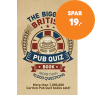 Produktbilde for The Biggest British Pub Quiz Book - Over 10,000 questions (BOK)