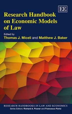 Research Handbook on Economic Models of Law (BOK)