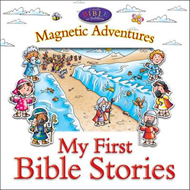 Magnetic Adventures - My First Bible Stories (BOK)