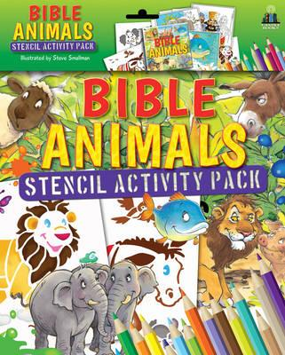 Bible Animals Stencil Activity Pack (BOK)