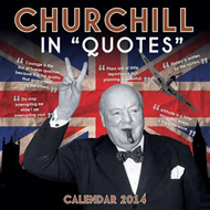 Churchill in Quotes Wall Calendar 2014 (BOK)