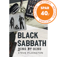 Produktbilde for Black Sabbath - Song by Song (BOK)