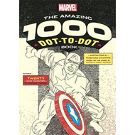 Marvel: The Amazing 1000 Dot-to-Dot Book (BOK)