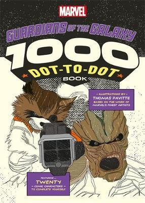 Marvel's Guardians of the Galaxy 1000 Dot-to-Dot Book (BOK)