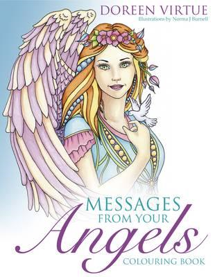 Messages from Your Angels Colouring Book (BOK)