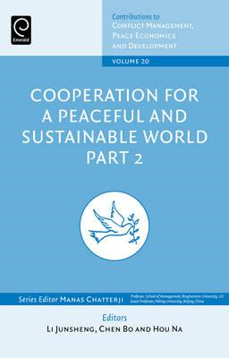 Cooperation for a Peaceful and Sustainable World: Part 2 (BOK)