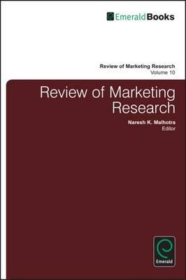 Review of Marketing Research (BOK)