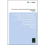 Institutional Investors' Power to Change Corporate Behaviour: International Perspectives (BOK)