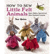 How to Sew Little Felt Animals (BOK)