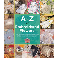 A-Z of Embroidered Flowers (BOK)