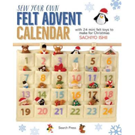 Produktbilde for Sew Your Own Felt Advent Calendar (BOK)