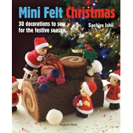 Produktbilde for Mini Felt Christmas (BOK)