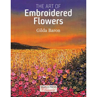 Art of Embroidered Flowers (BOK)