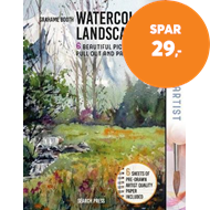 Produktbilde for The Paint Pad Artist: Watercolour Landscapes - 6 Beautiful Pictures to Pull out and Paint (BOK)