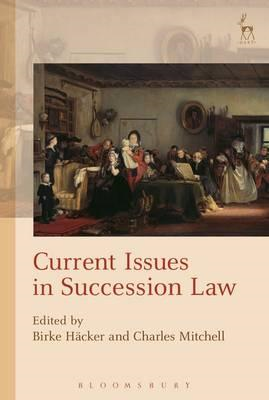 Current Issues in Succession Law (BOK)