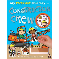 Construction Crew My Press out and Play (BOK)