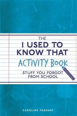 I Used to Know That Activity Book (BOK)