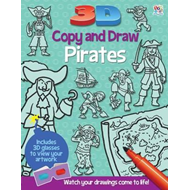 3D Copy and Draw Pirates (BOK)