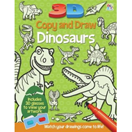 3D Copy and Draw Dinosaurs (BOK)