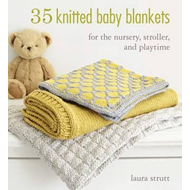 35 Knitted Baby Blankets (BOK)