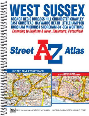 West Sussex Street Atlas (BOK)
