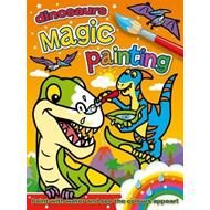 Magic Painting: Dinosaurs (BOK)