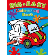 Big and Easy Colouring Book - Car (BOK)