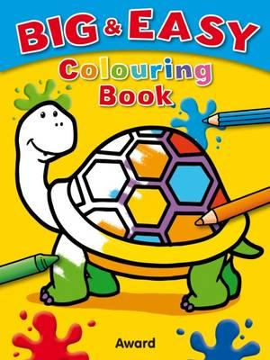 Big and Easy Colouring Book - Tortoise (BOK)