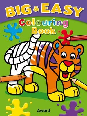 Big and Easy Coloring Book - Tiger (BOK)