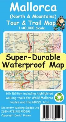 Mallorca North & Mountains Tour & Trail Super-Durable Map (BOK)
