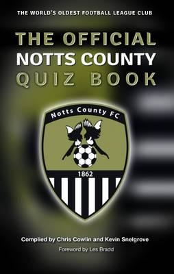 Official Notts County Quiz Book (BOK)