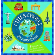 Cities of the World Memory Game (BOK)