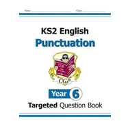 KS2 English Targeted Question Book: Punctuation - Year 6 (BOK)