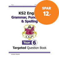 Produktbilde for KS2 English Targeted Question Book: Grammar, Punctuation & Spelling - Year 6 (BOK)