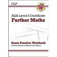 AQA Level 2 Certificate in Further Maths - Exam Practice Wor (BOK)