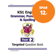 Produktbilde for KS1 English Targeted Question Book: Grammar, Punctuation & Spelling - Year 2 (BOK)
