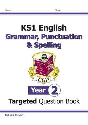 KS1 English Targeted Question Book: Grammar, Punctuation & S (BOK)