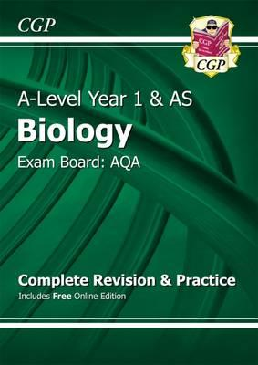 New A-Level Biology: AQA Year 1 & AS Complete Revision & Pra (BOK)