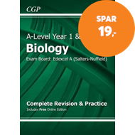 Produktbilde for A-Level Biology: Edexcel A Year 1 & AS Complete Revision & Practice with Online Edition (BOK)