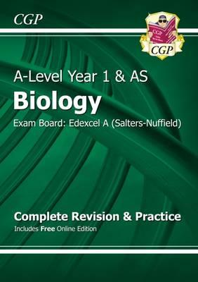 New A-Level Biology: Edexcel A Year 1 & AS Complete Revision (BOK)