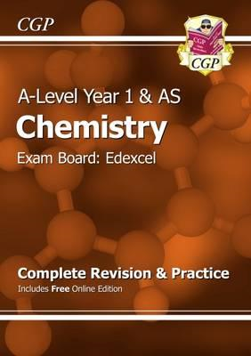 New A-Level Chemistry: Edexcel Year 1 & AS Complete Revision (BOK)