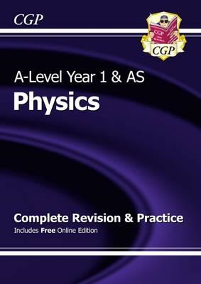 New A-Level Physics: Year 1 & AS Complete Revision & Practic (BOK)
