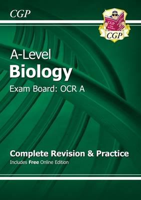 New A-Level Biology: OCR A Year 1 & 2 Complete Revision & Pr (BOK)