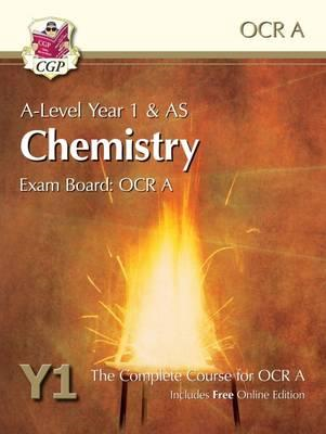A-Level Chemistry for OCR A: Year 1 & AS Student Book with O (BOK)