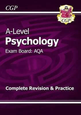 New A-Level Psychology: AQA Year 1 & 2 Complete Revision & P (BOK)