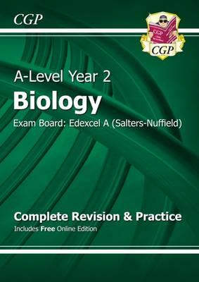 New A-Level Biology: Edexcel A Year 2 Complete Revision & Pr (BOK)
