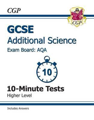 GCSE Additional Science AQA 10-Minute Tests (Including Answe (BOK)