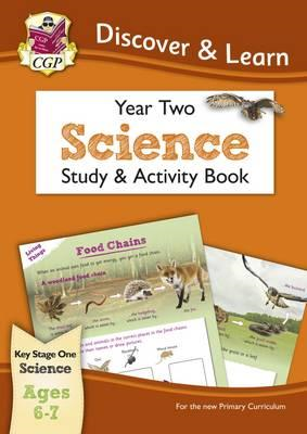 KS1 Discover & Learn: Science - Study & Activity Book, Year (BOK)