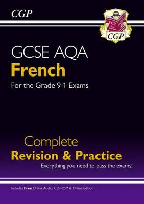 New GCSE French AQA Complete Revision & Practice (with CD & (BOK)